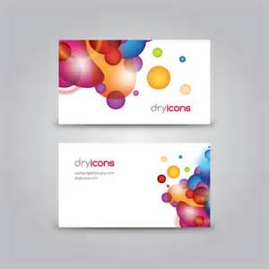 Free Business Card Templates by Business Card Template Vector Graphic Stationery