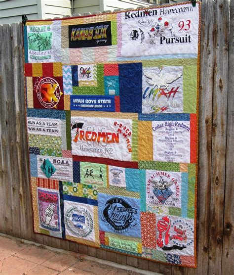 T Shirt Memory Quilts by T Shirt Memory Quilt Favequilts