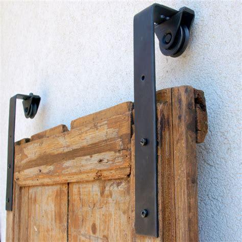 Porta Scorrevole Esterno Muro Fai Da Te by Kit Binario Per Porte Scorrevoli In Ferro Porte