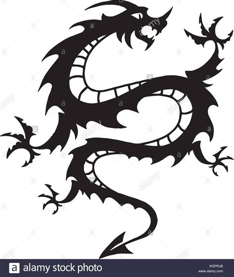 chinese dragon tattoo stock vector vector vectors stock photos vector vectors