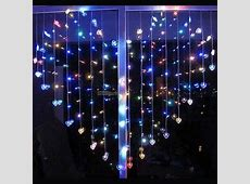 Buy LED Heart Shape Curtain Light Indoor Party Christmas ... Feel Good Store