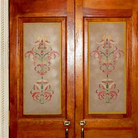 Glass Door Stencils Door Stencils Large Door Wall Window Panel Stencils For Deco Plant Flower Ornamental