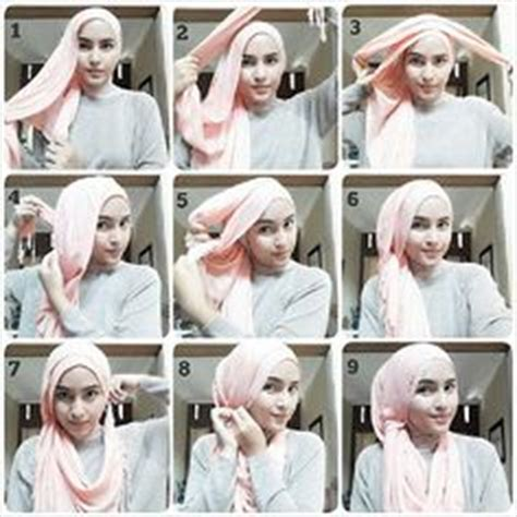 tutorial pashmina jersey 1000 images about tide up your hijab on pinterest