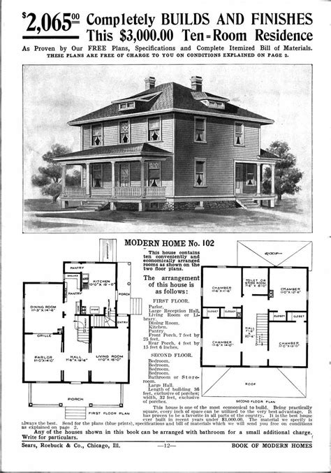 sears homes floor plans sears homes 1908 1914 home sweet home pinterest