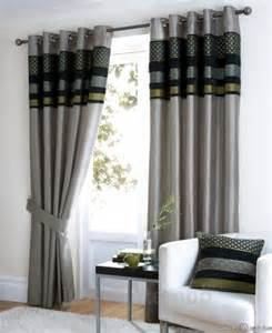 Black And Grey Bedroom Curtains Black Silver Green Grey Lime Luxury Eyelet Curtain