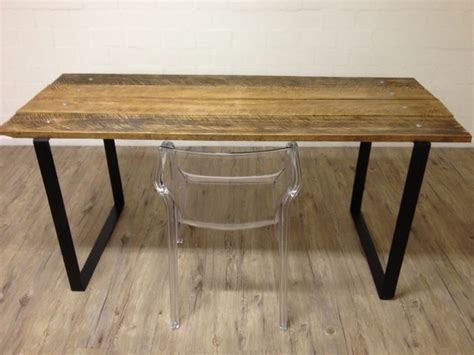 Square Dining Room Table Seats 8 by Reclaimed Wood Table W Steel Square Legs Modern