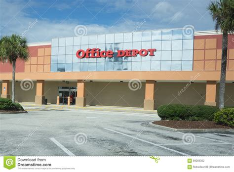 Office Supplies Jacksonville Fl Office Depot Editorial Photography Image 59209322