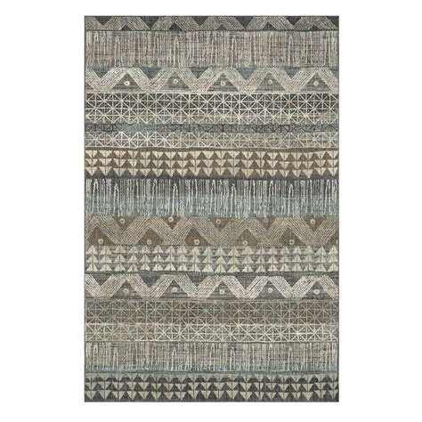grey area rugs home depot ballad gray 5 ft 3 in x 7 ft 10 in area rug 000552 the home depot