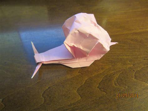 Origami Daily - daily origami 7 snail by naganeboshni on deviantart