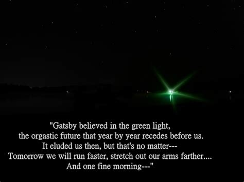 what does the green light in the great gatsby quotes about gatsby green light quotesgram