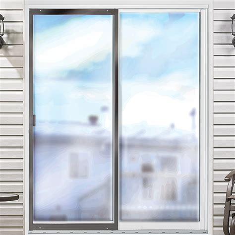 porte patio prix porte moustiquaire ajustable pour porte patio 30 po brun