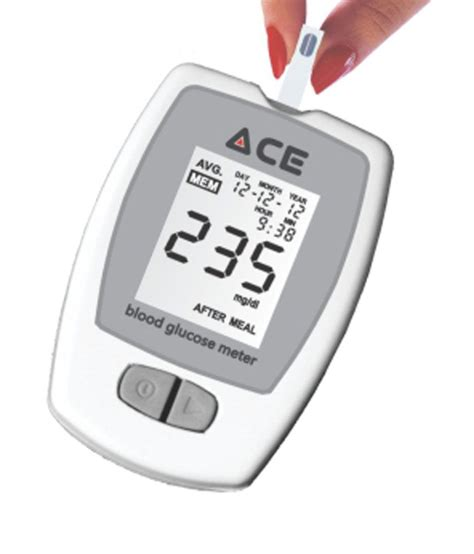 Lu 10 Meter ace ace glucometer with 100 strips ace dec 2018 buy