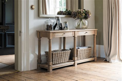 Neptune Edinburgh Console Table, Large   Living