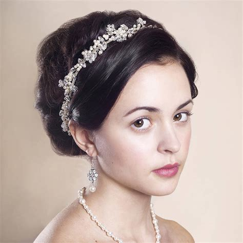 Handmade Bridal Headpieces - handmade anya wedding headpiece by rosie willett designs