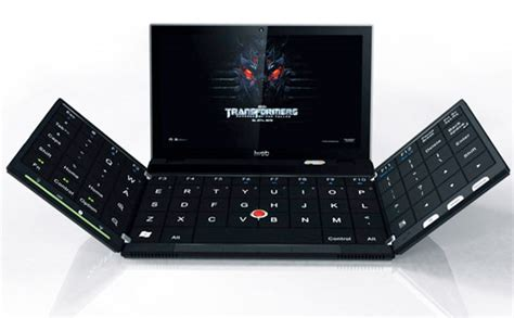best laptop cooler folding laptop concept is more than meets the eye technabob