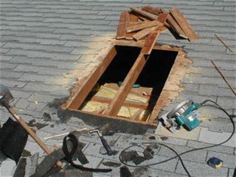 installing  skylight