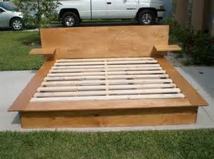 Custom Platform Bed With Storage Handmade Platform Storage Bed By Design Custommade