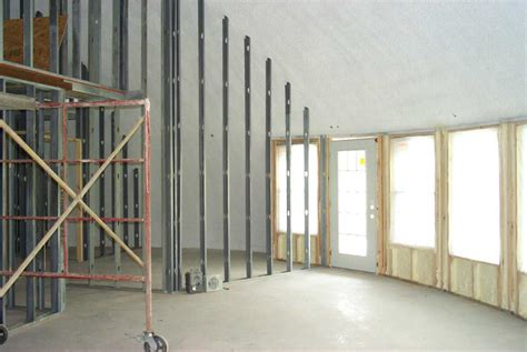 Interior Framing Monolithic Dome Institute Framing An Interior Wall With A Door
