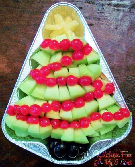 fruits for christmas party 30 of the most creative trees kitchen with my 3 sons