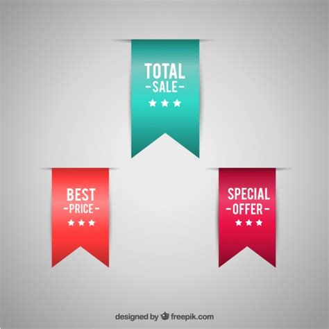 photoshop template offer special offer labels vector free download