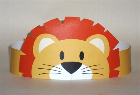 Paper Crown Craft - paper crown printable paper crowns and lions