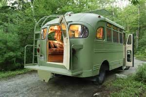 Renovated Campers 1959 Chevrolet Viking Short Bus Converted Into Camper