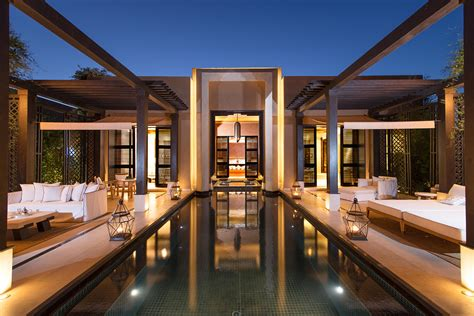 Modern Homes Interiors by Mandarin Oriental Marrakech To Open Soon