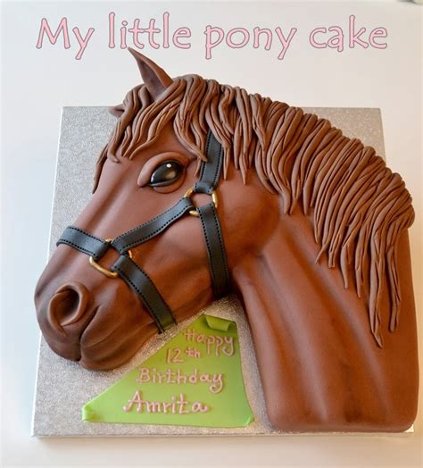 how to make a out of pony cake tutorial hilldalehouse