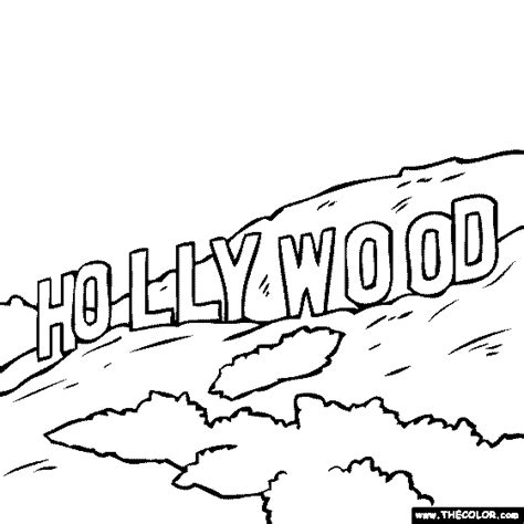 printable hollywood letters hollywood sign clip art cliparts co
