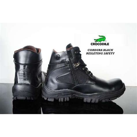 Crocodile Condura Safety Boots sepatu boot pria crocodile cordura safety ukuran 39 43