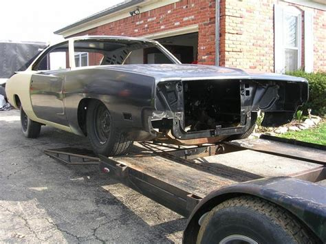 1969 dodge charger and frame for sale 1969 dodge charger project shell for b bodies only