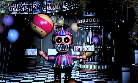 Kaos 8bit 18 fnaf 4 nightmare balloon boy by michael v on deviantart