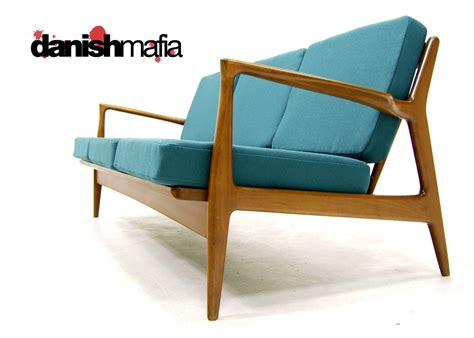 Arm Chair Recliner Design Ideas Furniture Blue Mid Century Sofa With Wood Arm And Seen From The Side Plus Lighting For Living