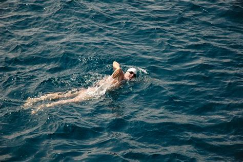 swing in the ocean this 47 year old man will swim 5 500 miles across the