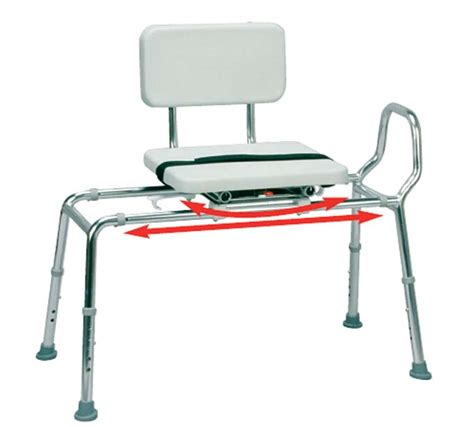 swivel sliding transfer bench padded sliding transfer bench with swivel