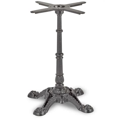 bistro table base bistro dining height table base 4 leg