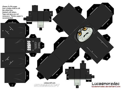 Papercraft Darth Vader - cubeecraft darth sidious lego by lucasmoredec on deviantart