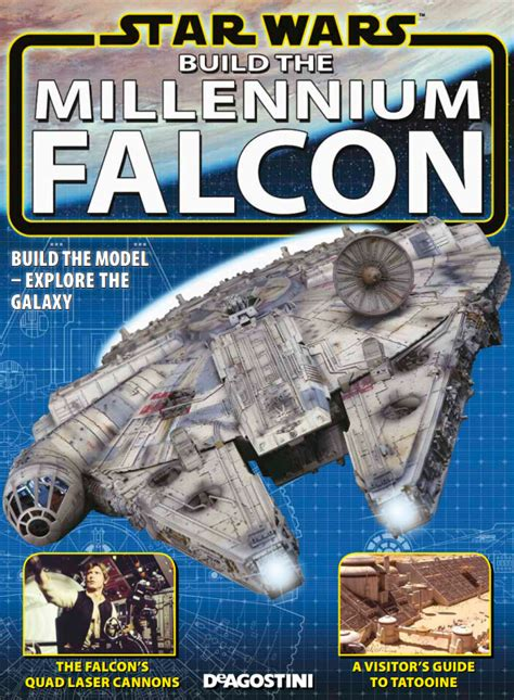 build star wars millennium falcon model modelspace