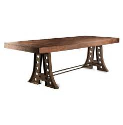 Industrial Rustic Dining Table Arne Industrial Style Rustic Iron A Frame Dining Table