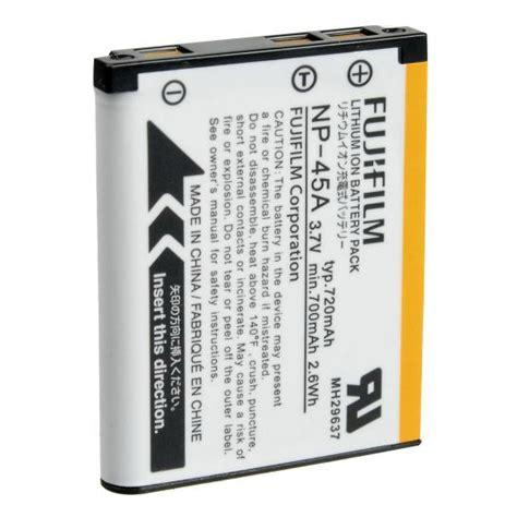 Baterai Fujifilm Np 45a fujifilm np 45a np 45 rechargeable lithium ion battery