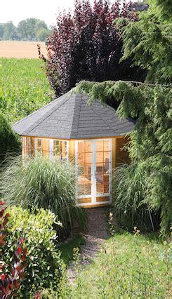 Pavillon Palma by Geschlossener Holzpavillon Palma Wolff Finnhaus