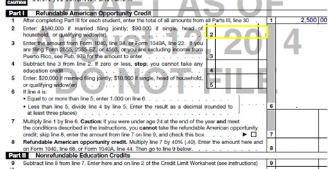 American Opportunity Tax Credit Mba by Understanding Taxes Simulation Claiming Education