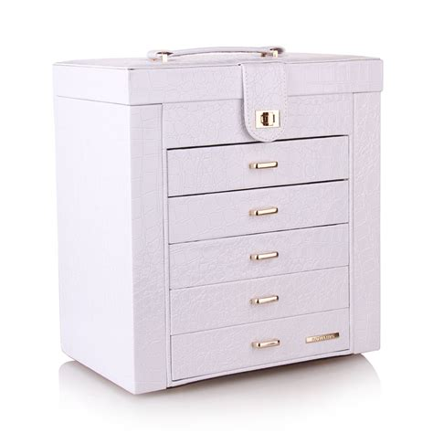 large jewelry box cabinet armoire ring trinket