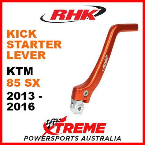 Ktm Kick Start Lever Ktm 85sx 85 Sx 2013 2016 Orange Rhk Kick Start Lever Rhk