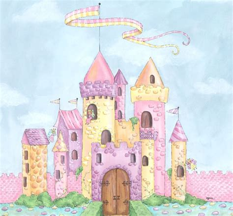 Cheap Nursery Wall Stickers the princess has found her palace p o v
