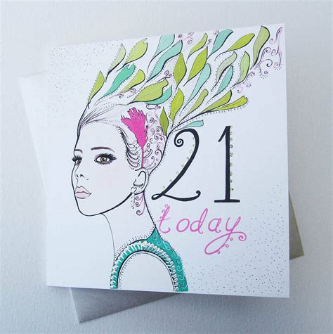 Templates For 21st Birthday Cards by Card Design Ideas Prodigous 21st Birthday Card