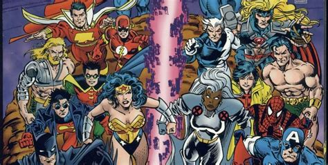 science dc comics dc versus marvel comics 1