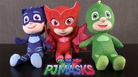 Pj Masks Sing And Talk Plush Gekko pj masks sing and talk catboy gekko owlette from just play