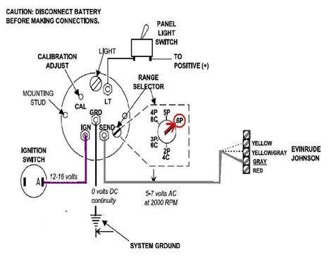 evinrude power pilot ignition switch wiring diagram 1977