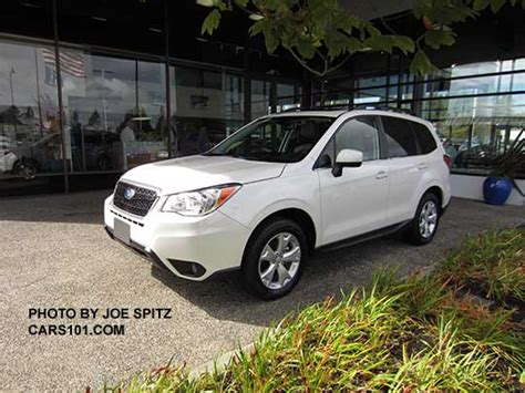 2016 white subaru forester 2016 subaru forester exterior photo page 1